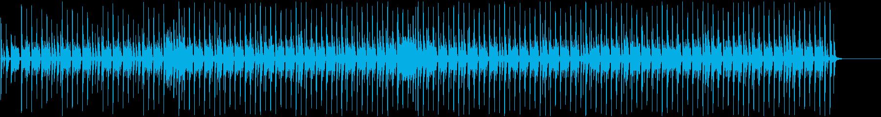 陽気でコミカルなほのぼのBGMの再生済みの波形