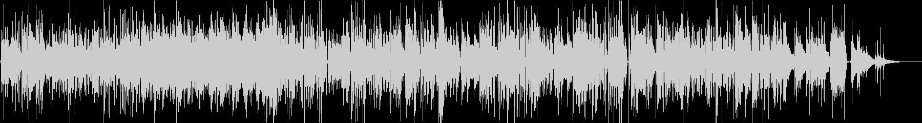 ブルース、カントリー調のギターBGMの未再生の波形