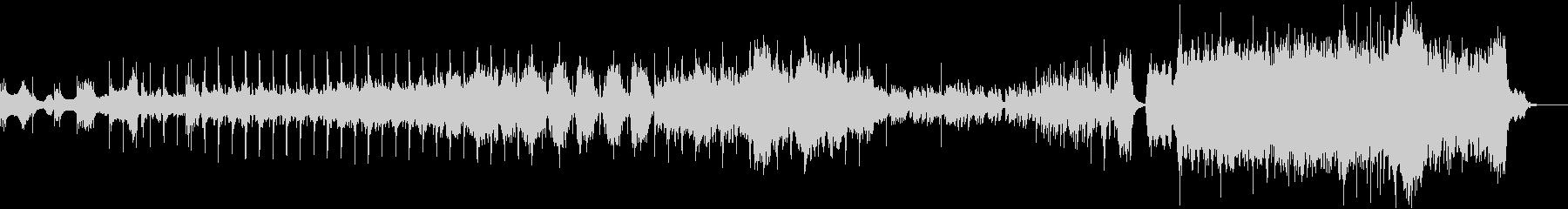 6部構成の和風オーケストラの未再生の波形