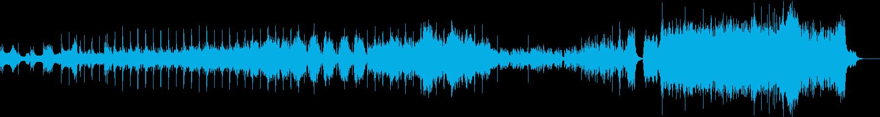 6部構成の和風オーケストラの再生済みの波形