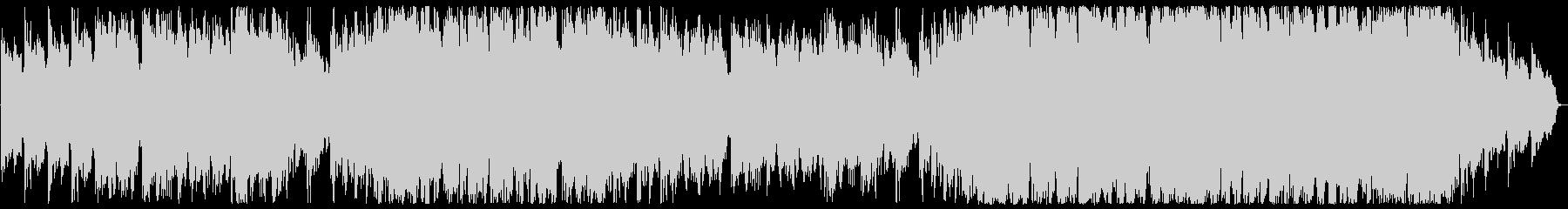 ハープとオーケストラENYA風ヒーリングの未再生の波形