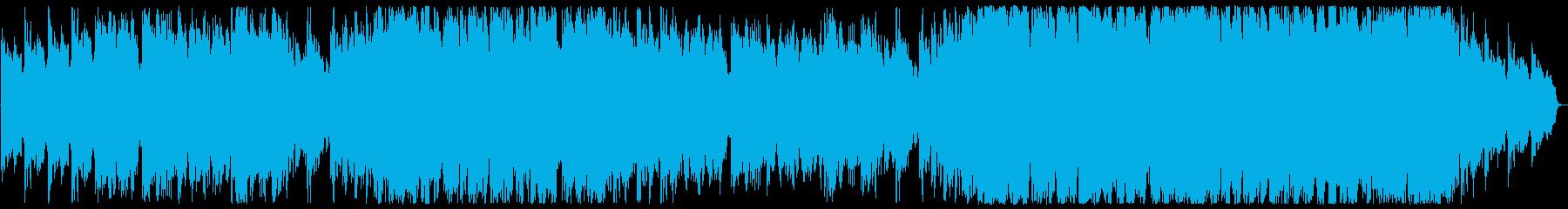 ハープとオーケストラENYA風ヒーリングの再生済みの波形