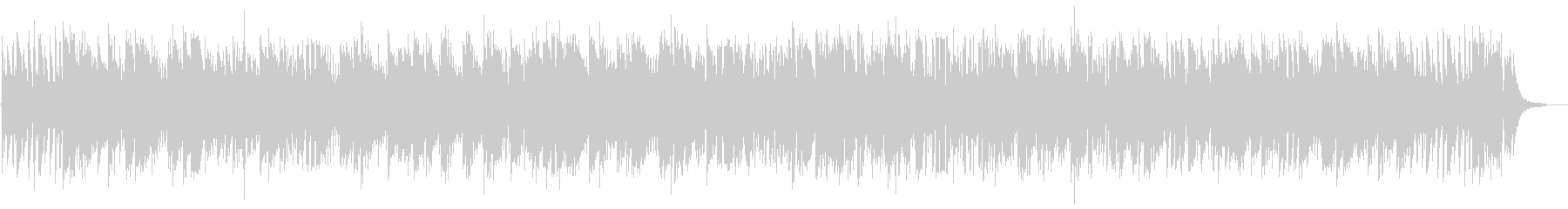 Piano Sonata 8th 2nd movement Jazz's unreproduced waveform