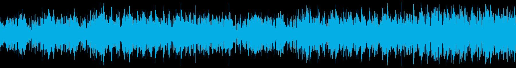 旅行・コミカルな夏の海・ジャズ・ループの再生済みの波形