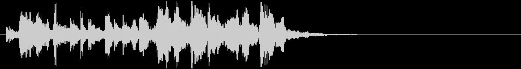 音楽ロゴ;ハッピーフィーリングのシ...の未再生の波形