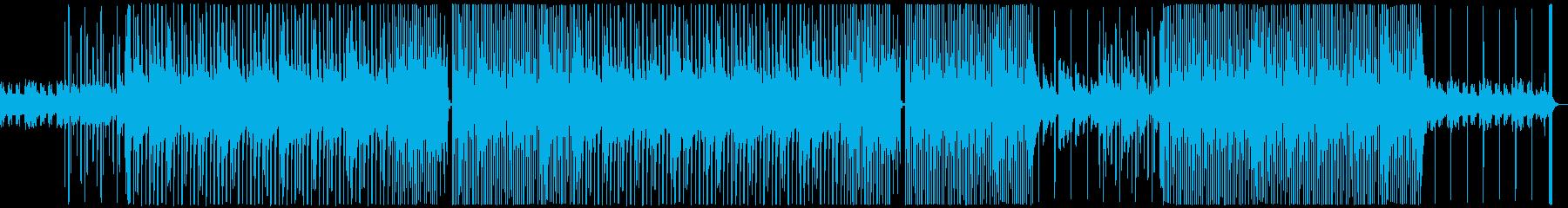 お洒落で切ないR&Bの再生済みの波形