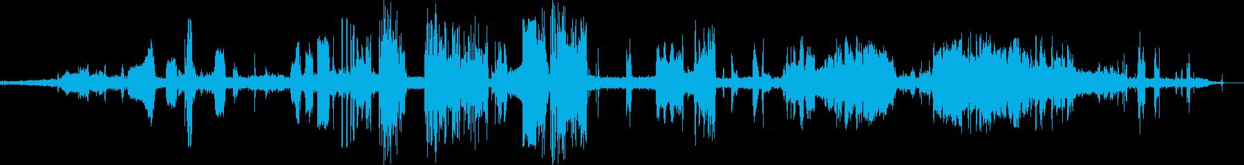 機械、電子;ラジオハッシュは、古い...の再生済みの波形