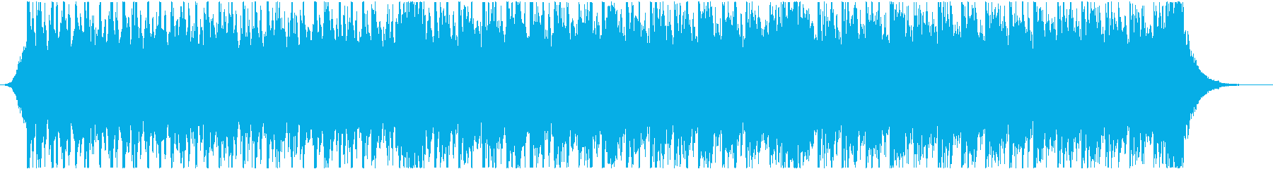 緊迫感のあるシネマティック(テンポ早め)の再生済みの波形