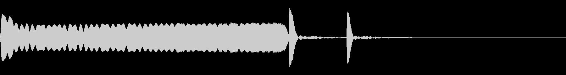ヒューンポコ:失敗、残念なイメージの未再生の波形