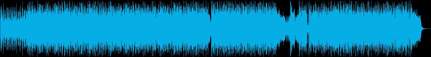 攻撃的なHR/HMの再生済みの波形