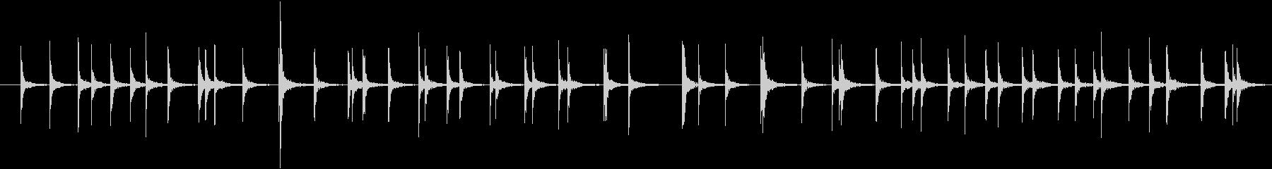 金槌(工事現場のイメージ)の未再生の波形