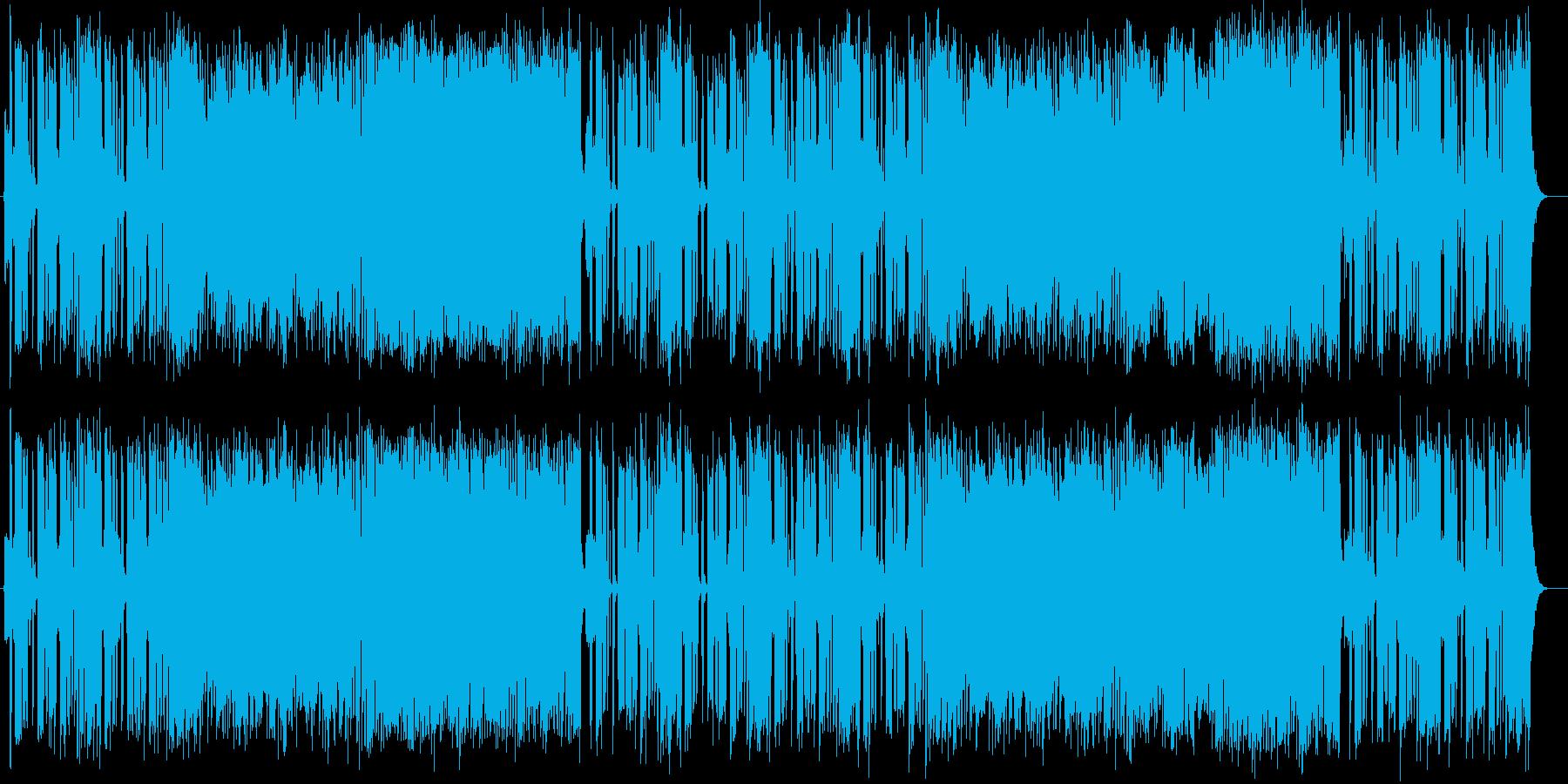 可愛い、和やかなストリングスポップスの再生済みの波形