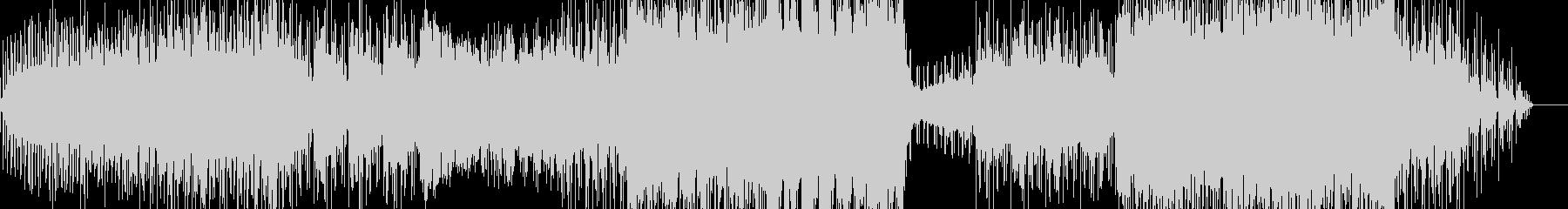 エレクトロ風チルアウトポップの未再生の波形