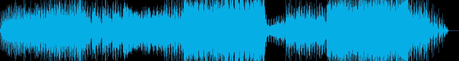 エレクトロ風チルアウトポップの再生済みの波形