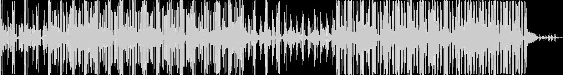 エレクトロニック 技術的な 感情的...の未再生の波形