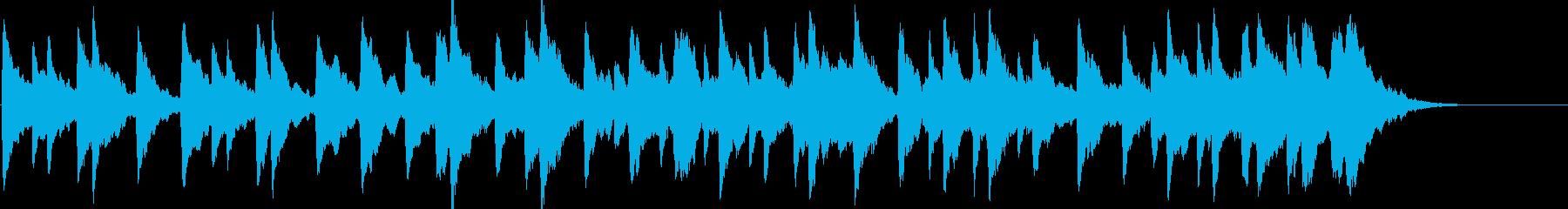 童謡「雪やこんこん」オルゴールbpm76の再生済みの波形