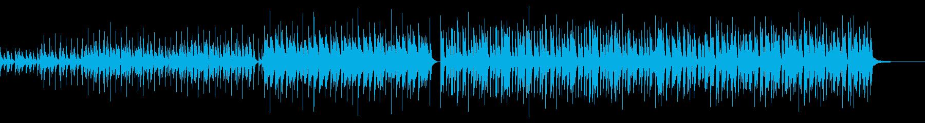 ベル・明るい・楽しい・フォーク調の再生済みの波形