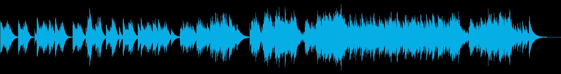 春の海 72弁オルゴールの再生済みの波形