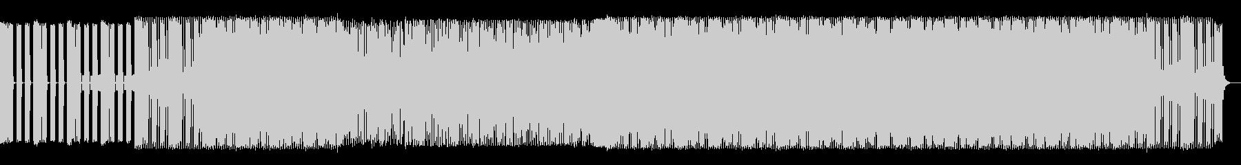 爽やかで躍動感のあるハウス系BGM 夏の未再生の波形
