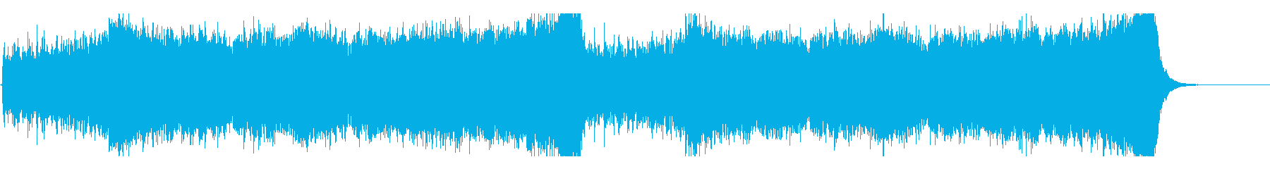 駆け抜ける壮大なストリングス-編集Aの再生済みの波形