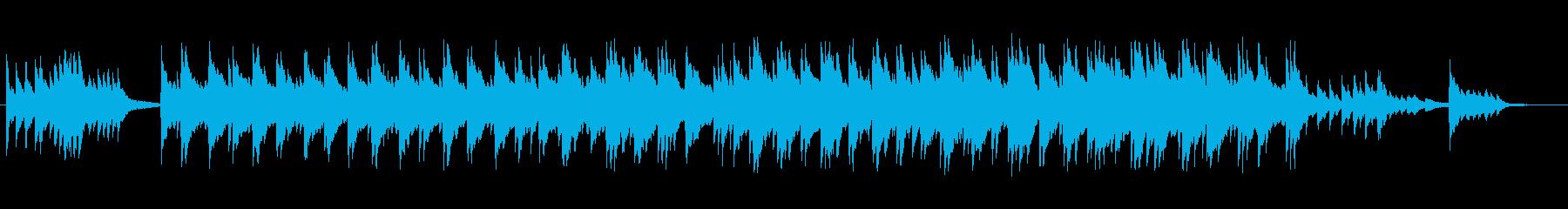 安心感のあるピアノバラードの再生済みの波形