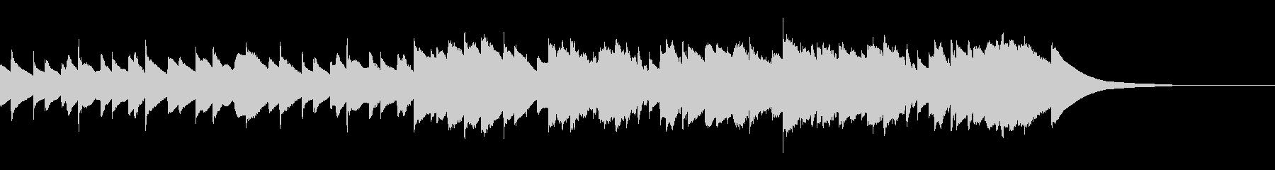 チェレスタの悲しいグリーンスリーブスの未再生の波形