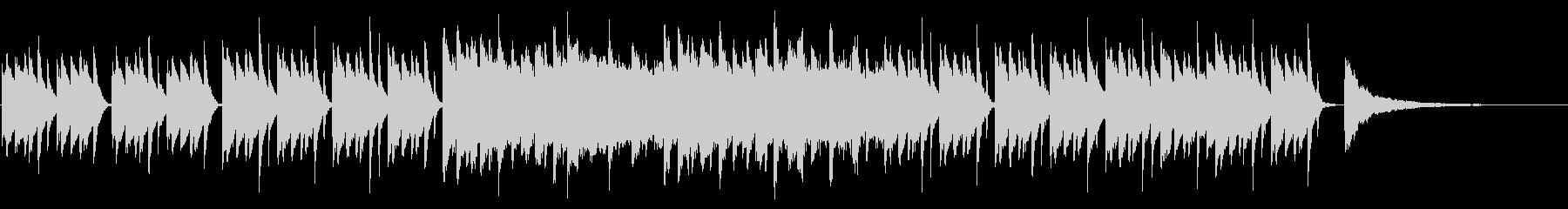 SNS広告 ピアノメイン ミニマル2の未再生の波形