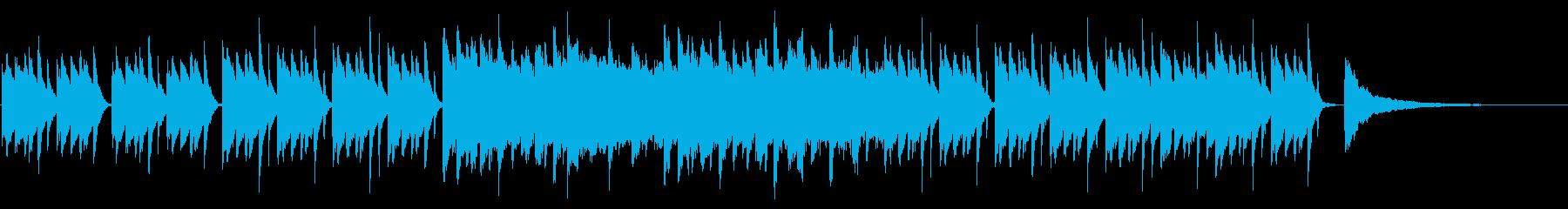 SNS広告 ピアノメイン ミニマル2の再生済みの波形