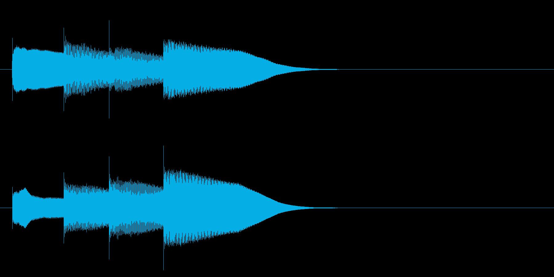 グロッケン系 決定音16(大)の再生済みの波形