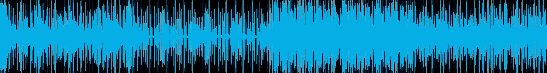 渋いロックです。の再生済みの波形