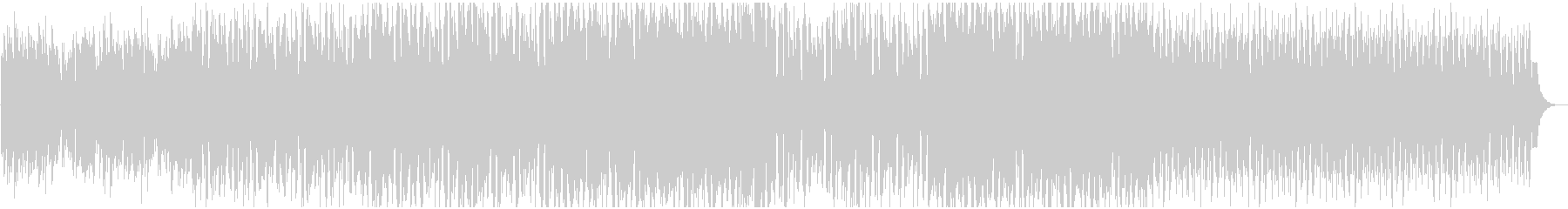 ワークアウト 王道ハウス サックスの未再生の波形