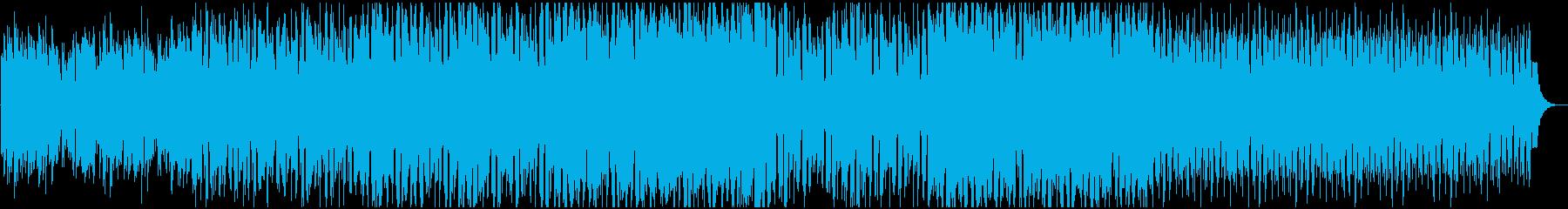 ワークアウト 王道ハウス サックスの再生済みの波形