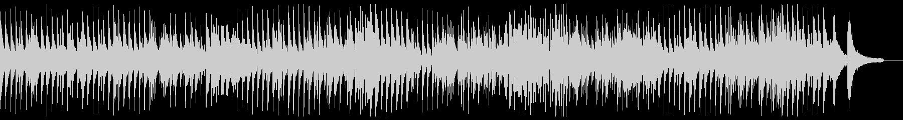 軽やかでエレガントなジャズワルツの未再生の波形