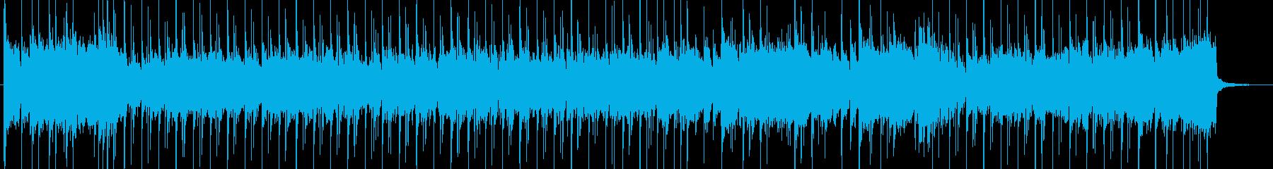テンポの速いギター「フュージョン」...の再生済みの波形