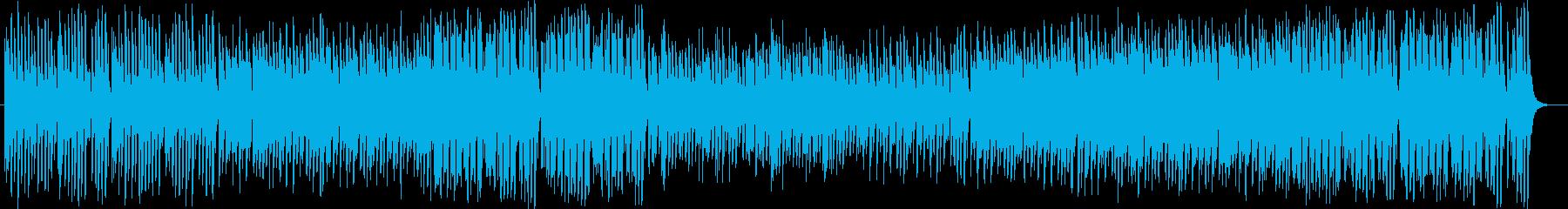 可愛くメルヘンなシンセサイザーサウンドの再生済みの波形