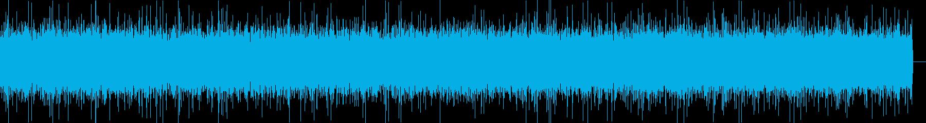 川の音・中規模(北海道)の再生済みの波形