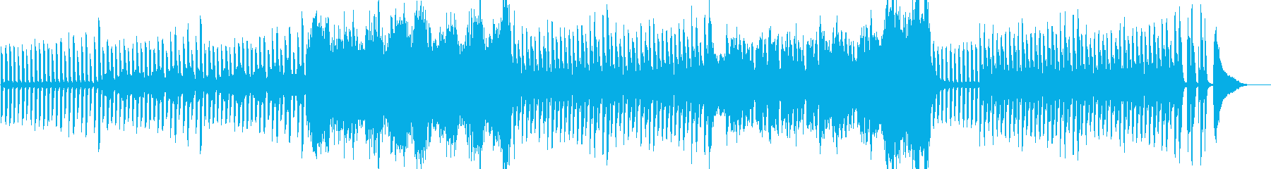 不思議な雰囲気のピアノとクラリネットの再生済みの波形