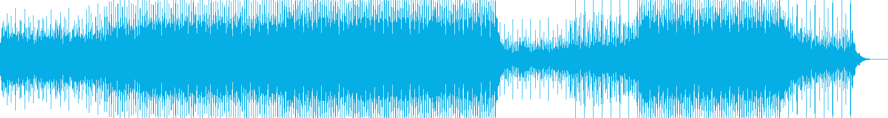 エスニックなパーカッションやその他...の再生済みの波形