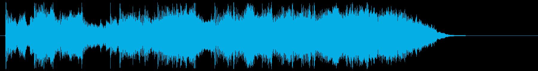 明るいホーンが印象的なポップスの再生済みの波形
