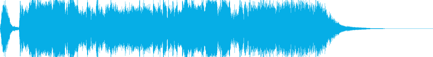 和風ジングル・オープニング・三味線・尺八の再生済みの波形