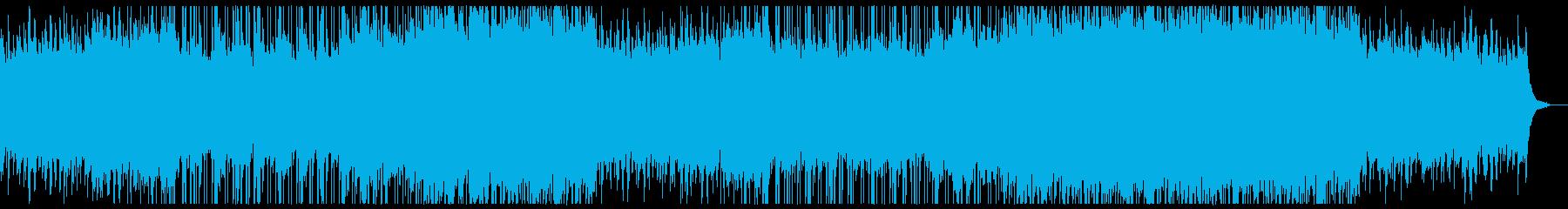 爽やかな感動系ピアノチルアウトシンフォ。の再生済みの波形