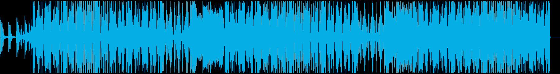 爽やかで優しい雰囲気のR&BHIPHOPの再生済みの波形