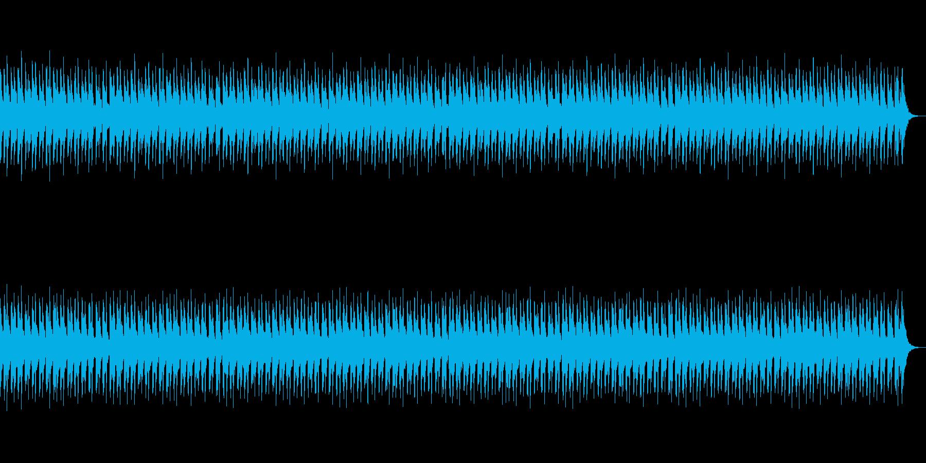 雨上がりで楽しいゆっくりハッピーなBGMの再生済みの波形