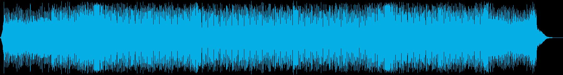 クール・かっこいい・EDMの再生済みの波形
