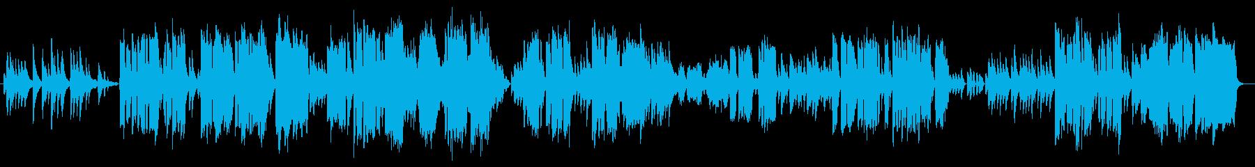 ささやかな大切な物がテーマのピアノ曲の再生済みの波形