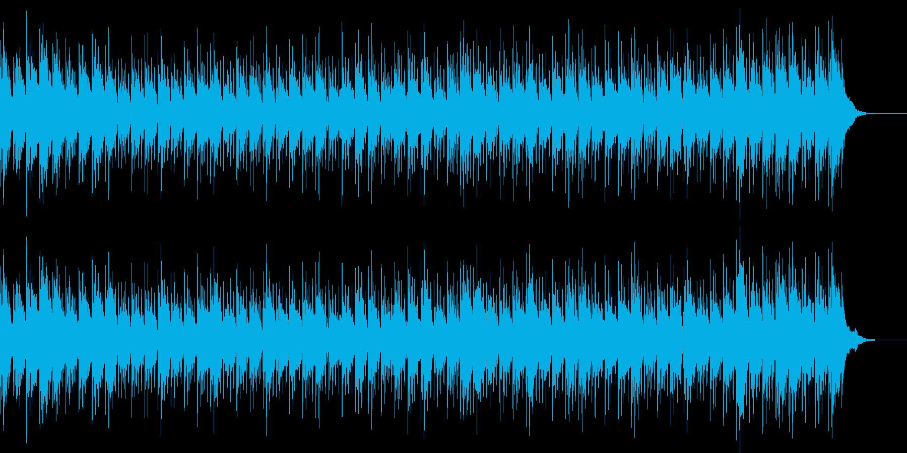 爽やか、シンプル/生音使用(アコギ)の再生済みの波形