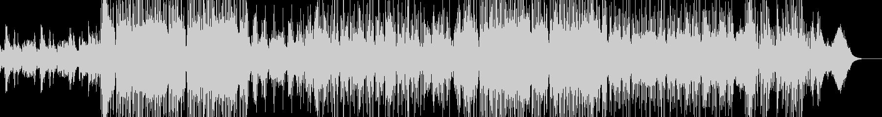 悲壮感漂うピアノメインのインストの未再生の波形