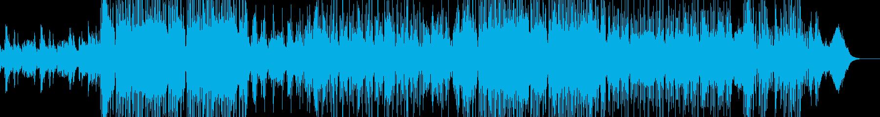 悲壮感漂うピアノメインのインストの再生済みの波形