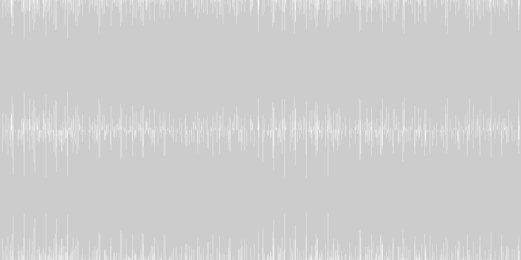 クールなシンセサイザーEDMループの未再生の波形