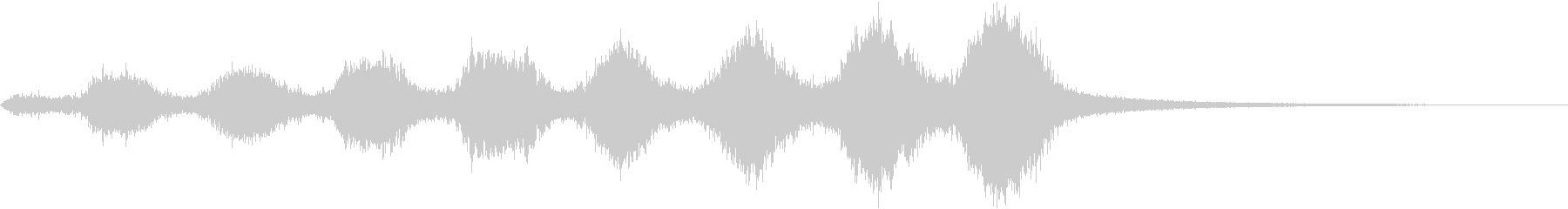 CINEMATIC RISER_33の未再生の波形
